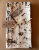 Insects tea towel  (c) Fiona Willis