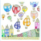 Home of Hot Air Balloons a card by Fiona Willis Artwork (c) Fiona Willis