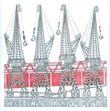 Brilliant Bristol Cranes a card by Fiona Willis Artwork (c) Fiona Willis
