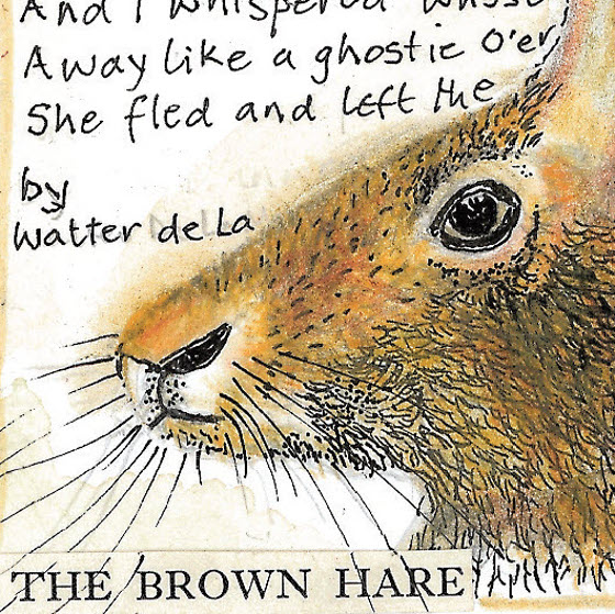 The Hare an original design (c) Fiona Willis 2016